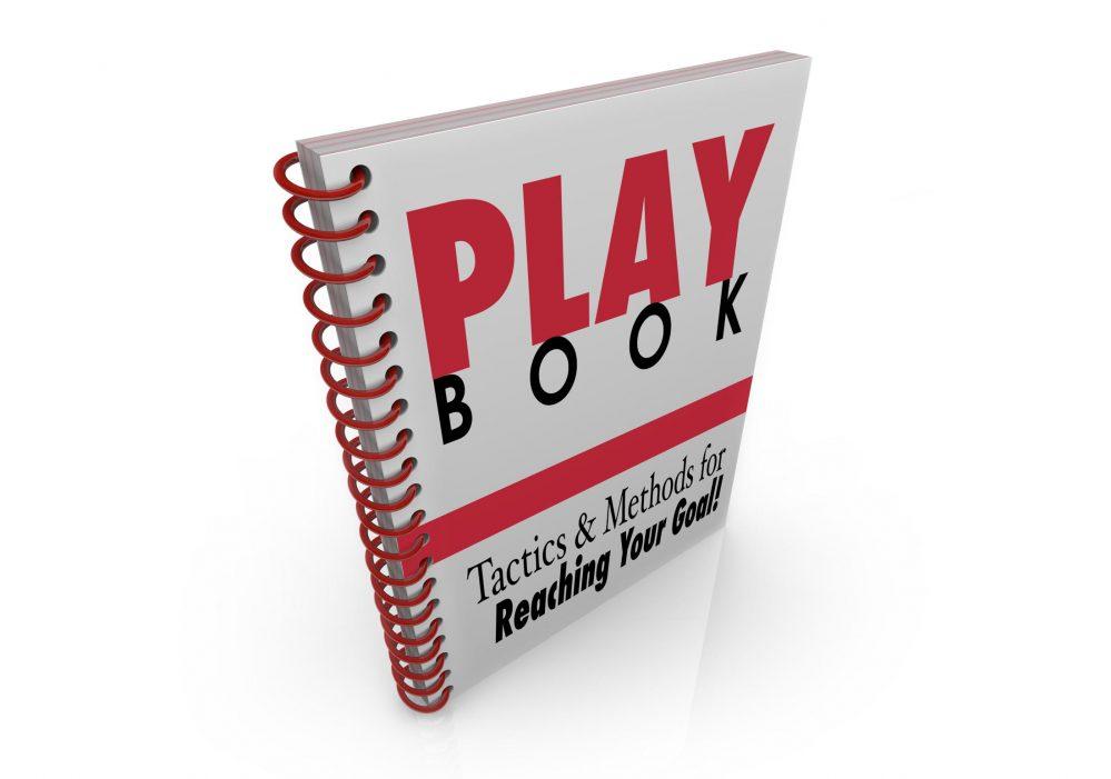 Spiral-bound Sales Playbook