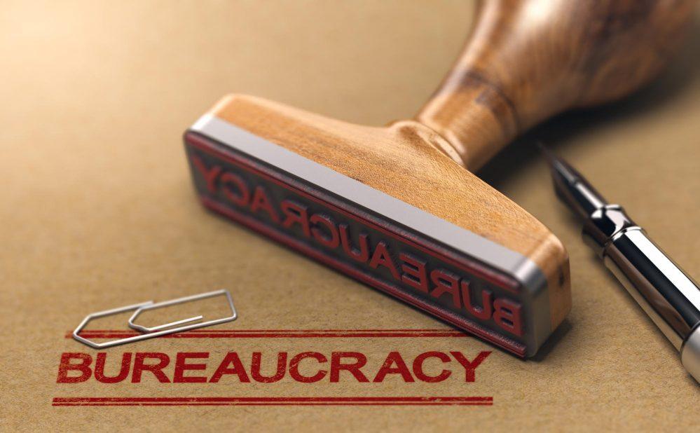 Bureaucracy stamp
