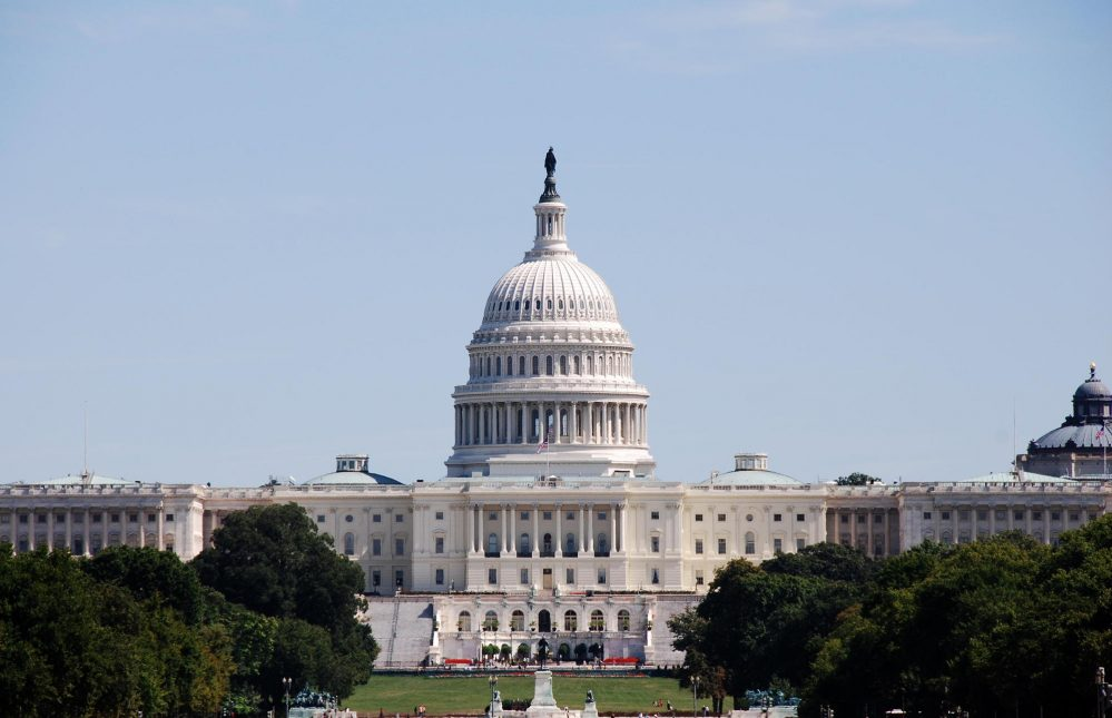 Picture of the Capitol building in Washington, D.C.
